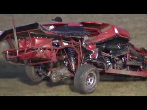 Modified Crash (Jim Mallery/Andy Bishop Incar ) Gas City Speedway 7-6-12