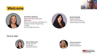 ASU's Online Master of Computer Science [Admissions Q&A - July 11]