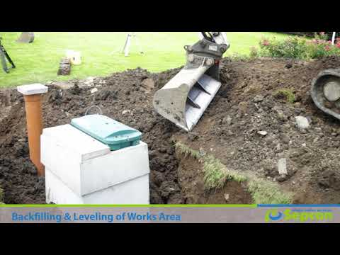 Septic tank & waste water treatment replacement installation Ireland