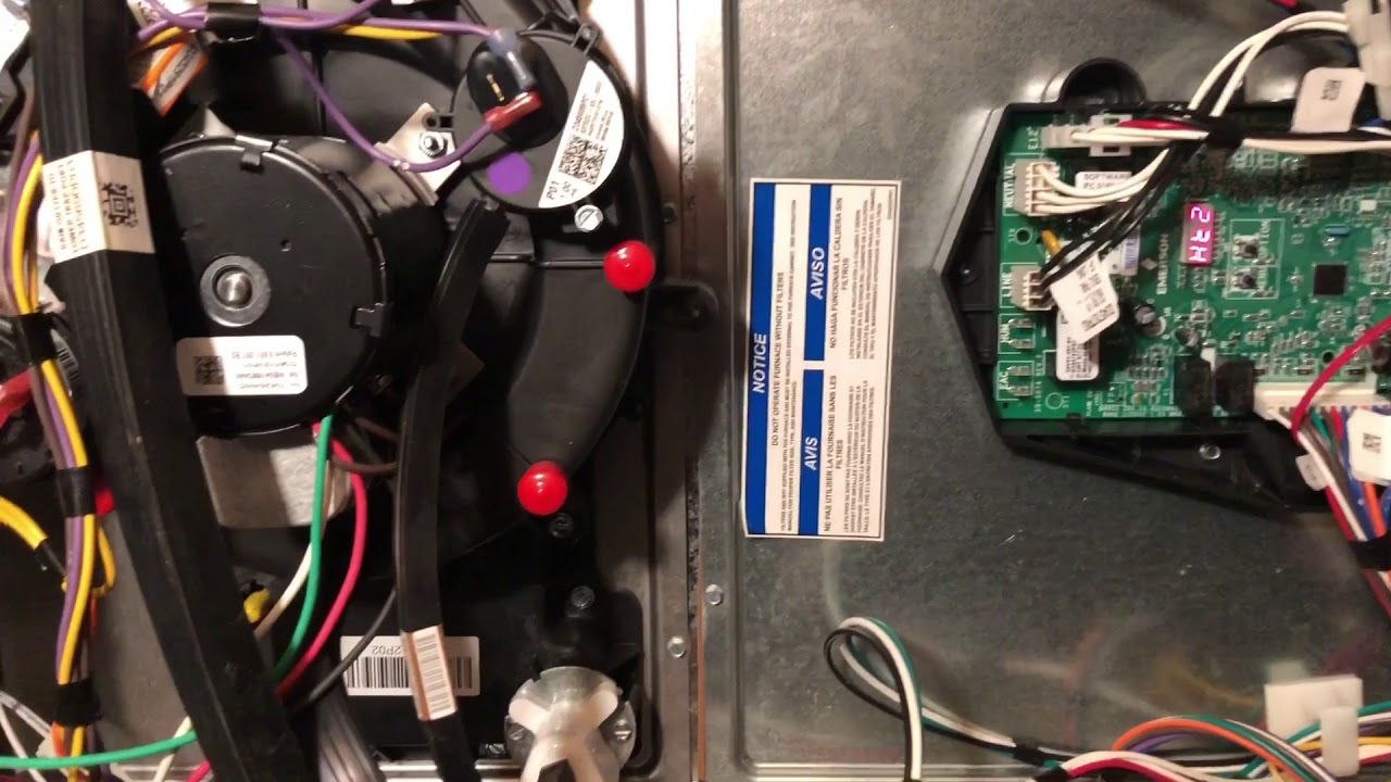 No heat call on New Trane Furnace installer error FAIL !!
