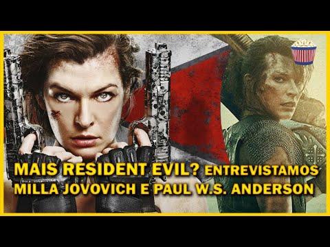 Mais Resident Evil? Milla Jovovich e Paul W S Anderson falam sobre terror e Monster Hunter