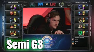 Dire Wolves vs Legacy | Game 3 Semi Finals OPL Summer 2015 Split 2 Playoffs | DW vs LGC G3