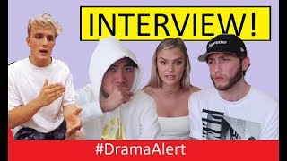 RiceGum, FaZe Banks & Alissa Violet INTERVIEW! #DramaAlert Jake Paul FINISHED? (Security Footage)