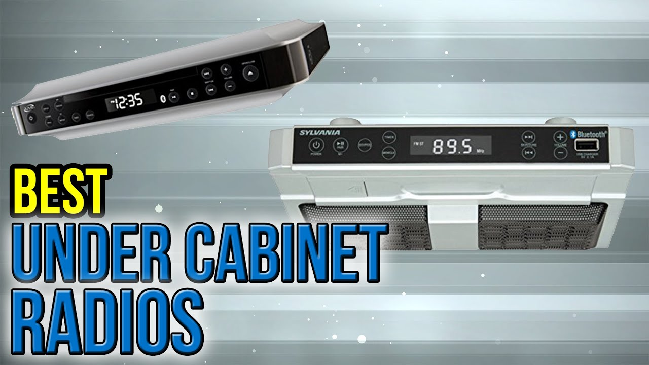 6 Best Under Cabinet Radios 2017 - YouTube