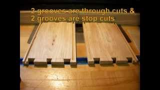 Making A Sliding Lid Dovetail Box From American Chestnut