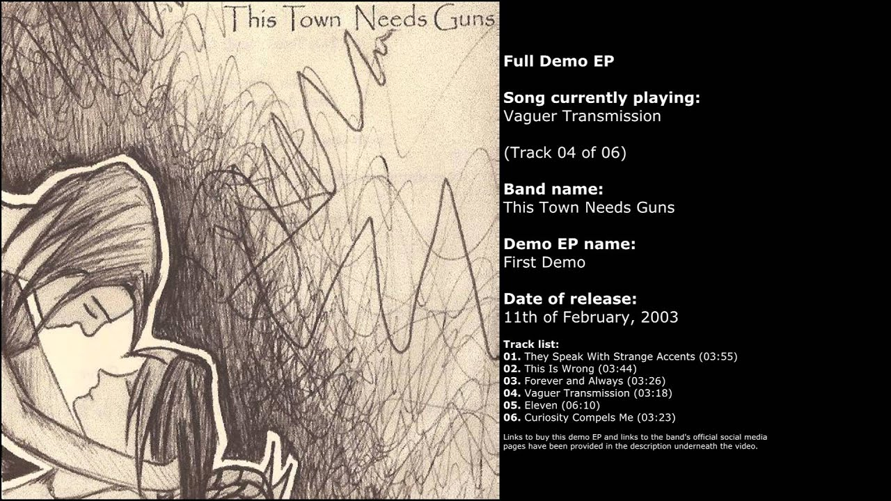 This Town Needs Guns - First Demo (Full Demo EP) - YouTube