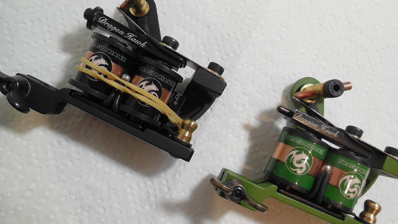 Understanding The Difference Between A Liner & Shader Tattoo Machine