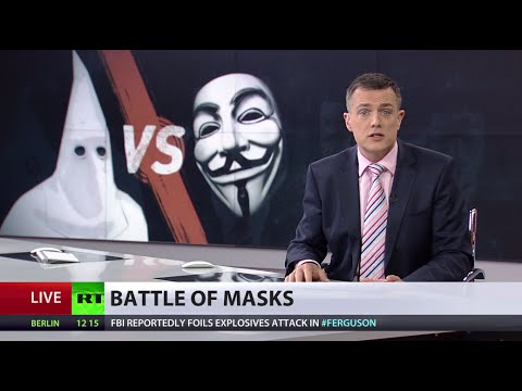KKK declares war on Anonymous activists protesting in Ferguson
