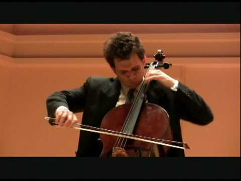 Paganini 24th Caprice, on the 'cello- LIVE