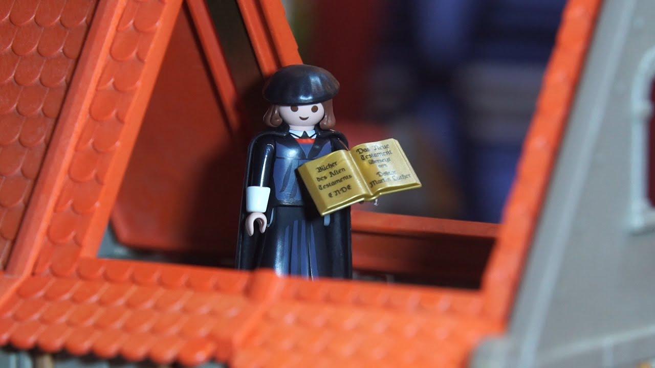 Luthers Leben Als Playmobil Geschichte