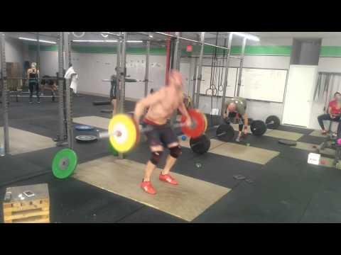Willie McLendon 112kg Snatch