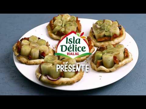 idée-recette-isla-délice-:-minis-tatins-de-poireaux