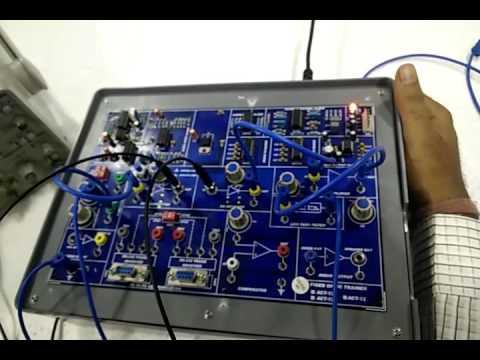 BASIC FIBER OPTIC TRAINER (ACT-12) PART-1  KITEK