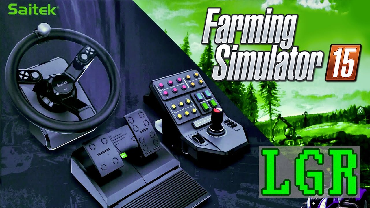 Lgr saitek farming simulator controller review youtube for Force interieur