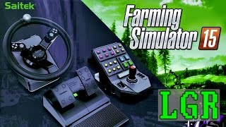 LGR - Saitek Farming Simulator Controller Review(Commentary and overview of features and gameplay using the Heavy Equipment Precision Control System. Farming Simulator 15, Euro Truck Simulator 2, ..., 2015-11-16T11:42:56.000Z)