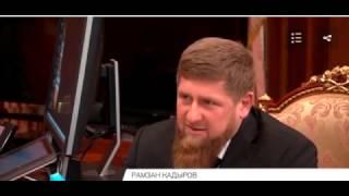 """Путин припомнил Кадырову нападение на Росгвардию! Кто кому - """"В глаза смотреть!!!""""?"""
