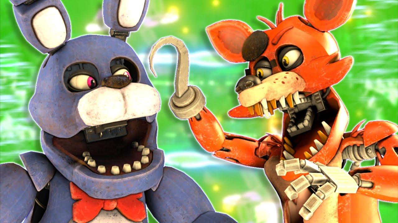 [SFM FNaF] VR Foxy vs VR Bonnie