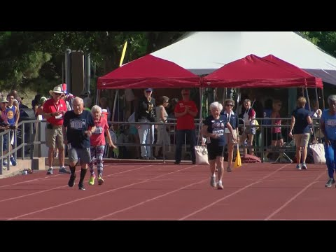 103-year-old runner becomes oldest person to compete and win at the National Senior Games