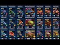 Mosasaurus Tournament - 21 Different Dinos - Jurassic World The Game