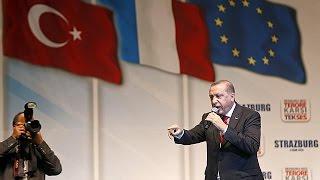 اردوغان يتوعد بملاحقة عناصر حزب العمال الكردستاني     5-10-2015