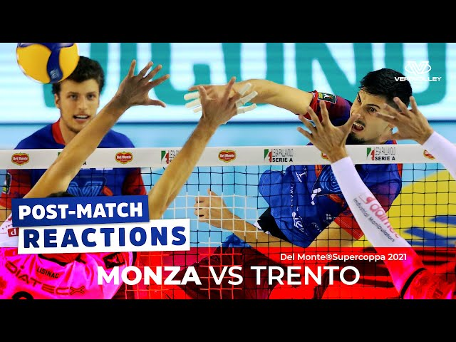 Gianluca Galassi post Trento vs Vero Volley Monza | Finale Supercoppa Italiana