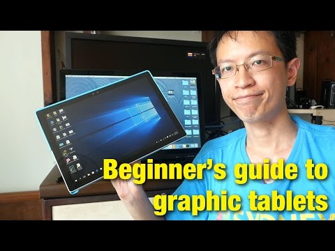 Guide & Intro to Graphic Tablets for Digital Artists