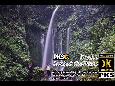 PKSTV - Pesona Lombok : Air Terjun Sendang Gile & Air Terjun Tiu Kelep, Senaru Lombok Utara