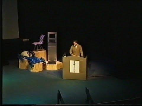 1999 - Enric Miralles - RIAS Conference Glasgow Edinburgh