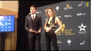 2015 Canadian Screen Awards - Xavier Dolan talks about his next film