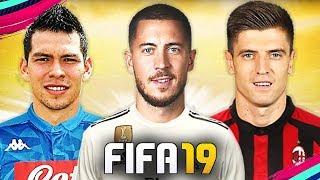 PIATEK AL MILAN, LOZANO AL NAPOLI!!! TOP 10 TRASFERIMENTI INVERNALI FIFA 19 | Hazard, Rabiot...
