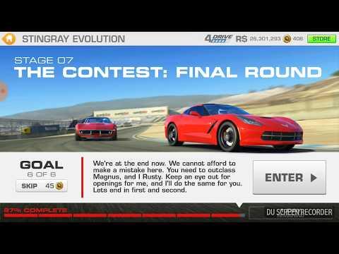 Real Racing 3: Stingray Evaluation Ft Chevrolet Corvette Stingray Z51: Stage 7.6