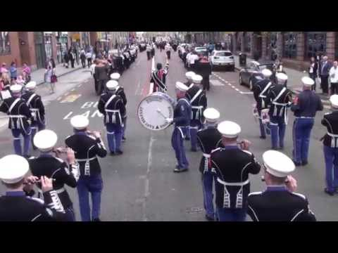 Robert Graham Memorial @ 36Th Ulster Division Review Centenary Parade 2015