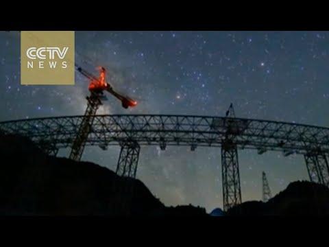 China completes world's largest radio telescope
