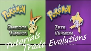 Pokemon Zeta/Omicron Tutorials #2 - Trade Evolutions