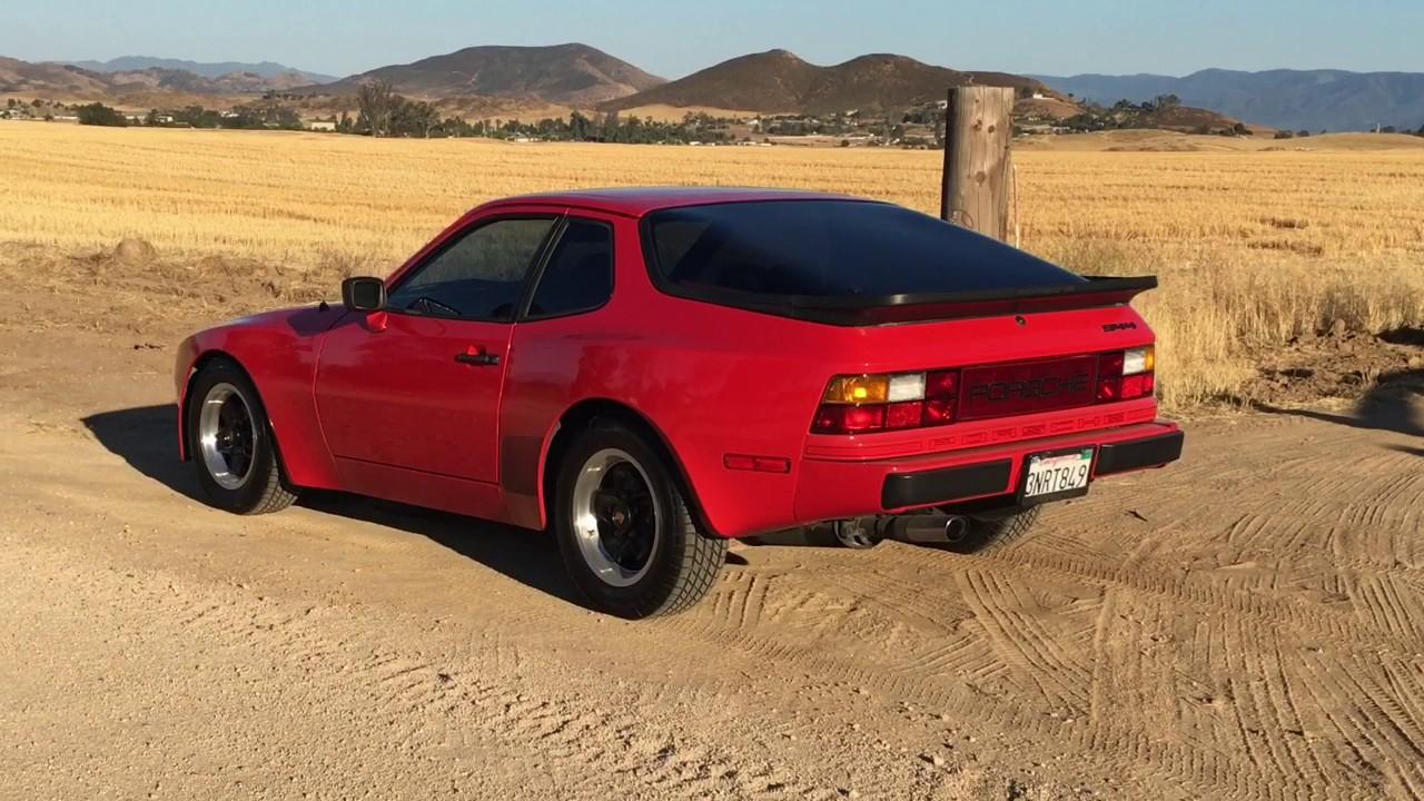 1983 Porsche 944 - YouTube