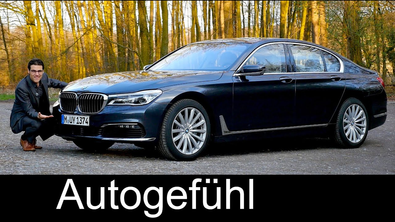 bmw 7 series 7er full review test driven 740i all new neu g11 2016 2017 with autobahn youtube. Black Bedroom Furniture Sets. Home Design Ideas