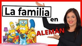 La Familia En Alemán Die Familie Pronunciación Y Ejercicios Deutschmanía Net