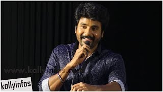 Mr Local Hero Sivakartikeyan Speech Mr Local Press Meet