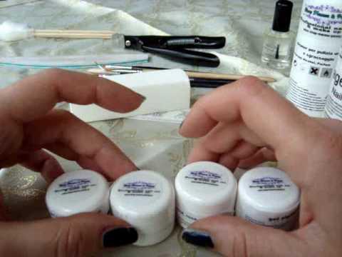come si fanno le unghie con il gel