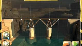 Bridge Constructor - Central Mainland - Bridge 1 - Walkthrough