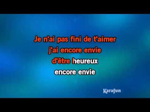 Karaoké Rue fontaine - Marc Lavoine *