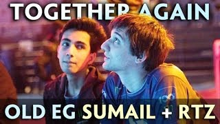 ARTEEZY + SUMAIL together again — old EG teammates in party MMR