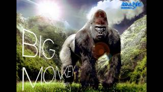 FOTO MANIPULACION - BIG MONKEY