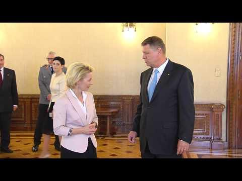 Primirea doamnei Ursula von der Leyen, ministrul Apărării din Germania