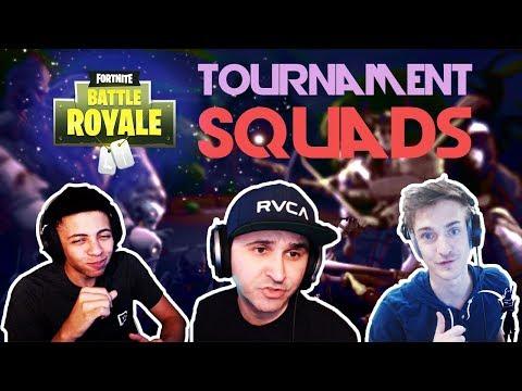 🥊Summit vs TheMyth vs Ninja 🥊🏆Squad Tournament by Epic🏆