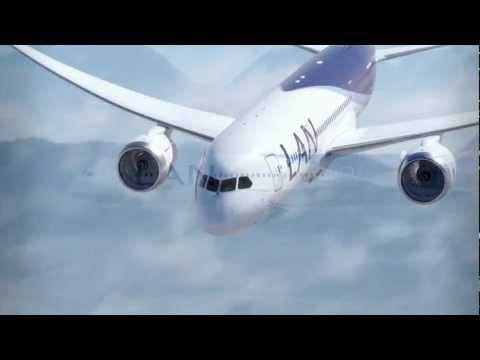 LAN Airlines Boeing 787 Video