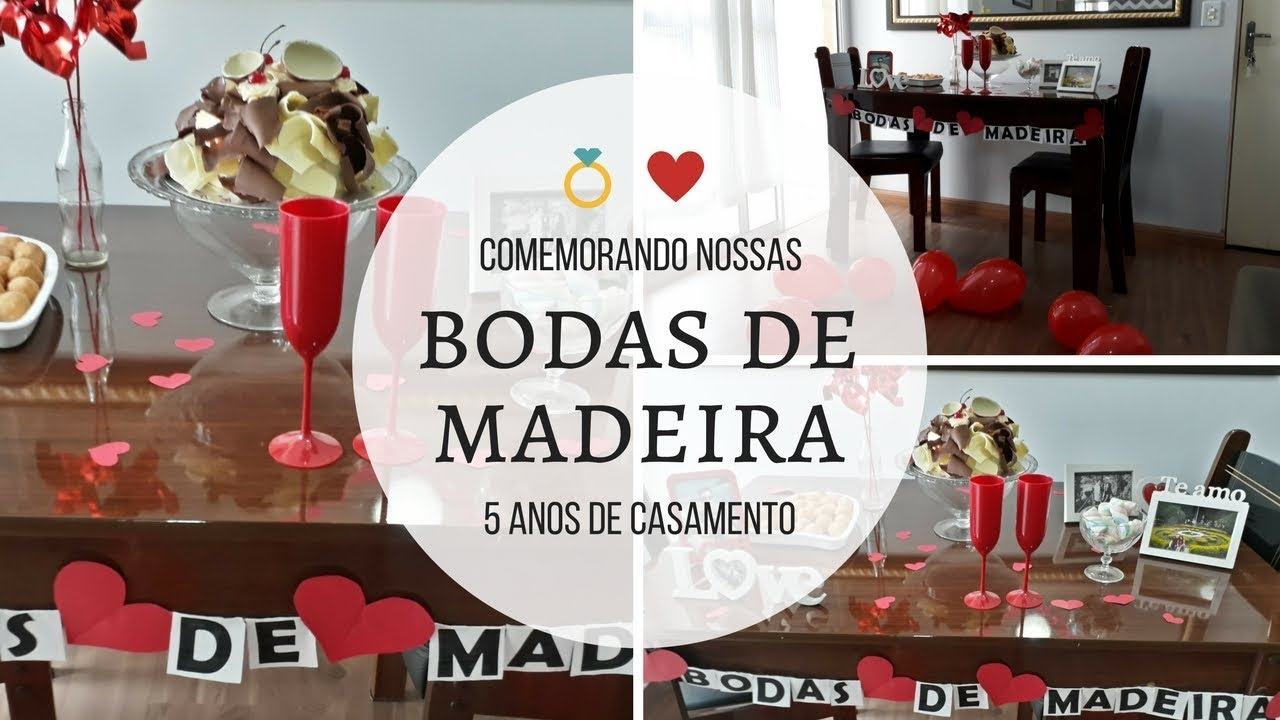 Fiz Surpresa Pro Marido Bodas De Madeira 5 Anos Casados