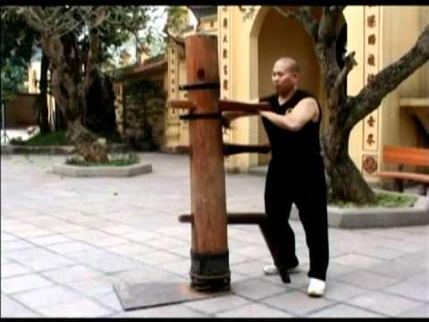 Wooden Dummy Vietnam Moc nhan 3