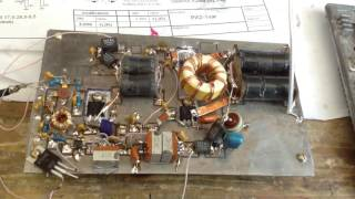 Трансивер DM2005, підсилювач потужності на IRF510 (частина1)