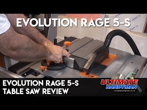 Evolution Rage 5-S table saw review
